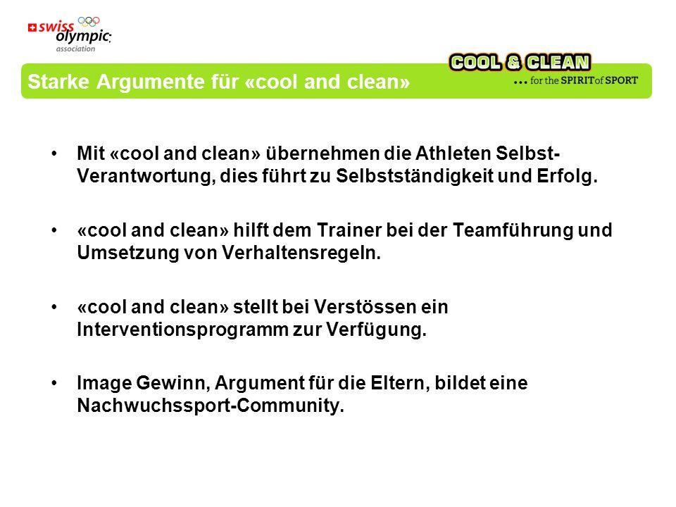 Starke Argumente für «cool and clean»