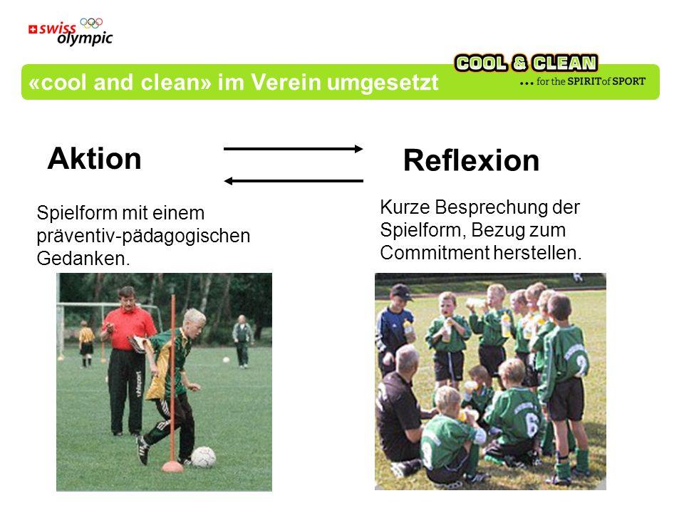 «cool and clean» im Verein umgesetzt