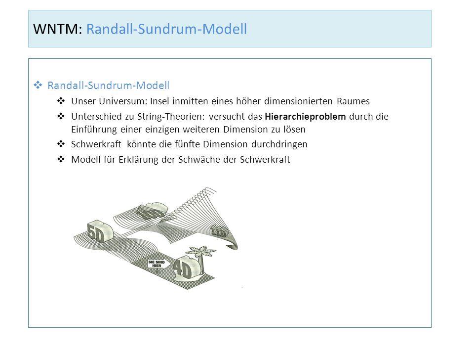 WNTM: Randall-Sundrum-Modell