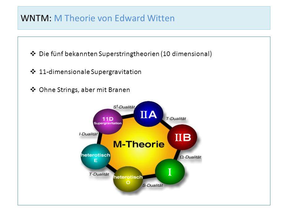 WNTM: M Theorie von Edward Witten