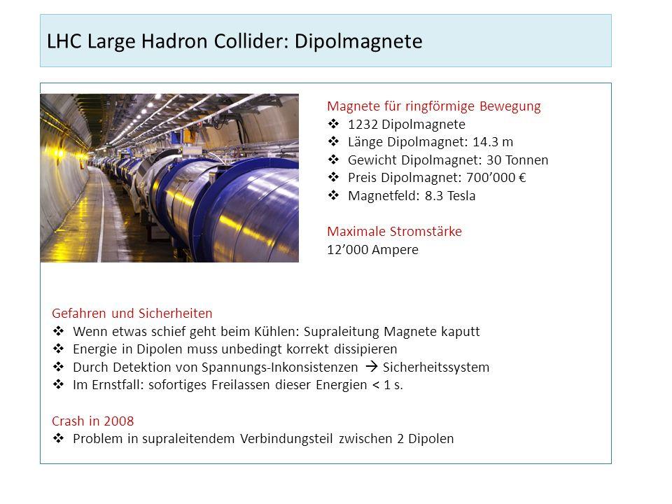 LHC Large Hadron Collider: Dipolmagnete