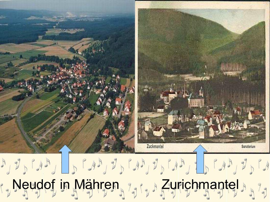 Neudorf in Mähren Neudof in Mähren Zurichmantel