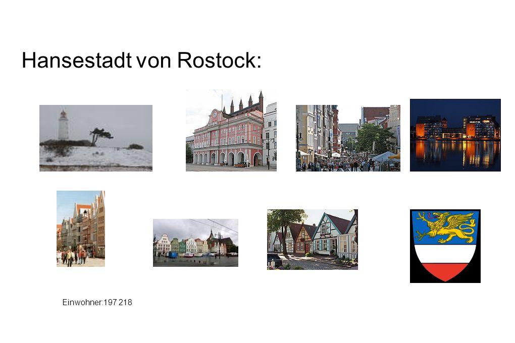 Hansestadt von Rostock:
