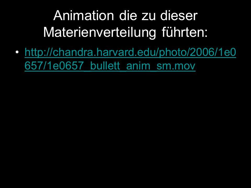 Animation die zu dieser Materienverteilung führten:
