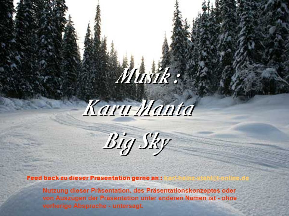 Musik : Karu Manta Big Sky