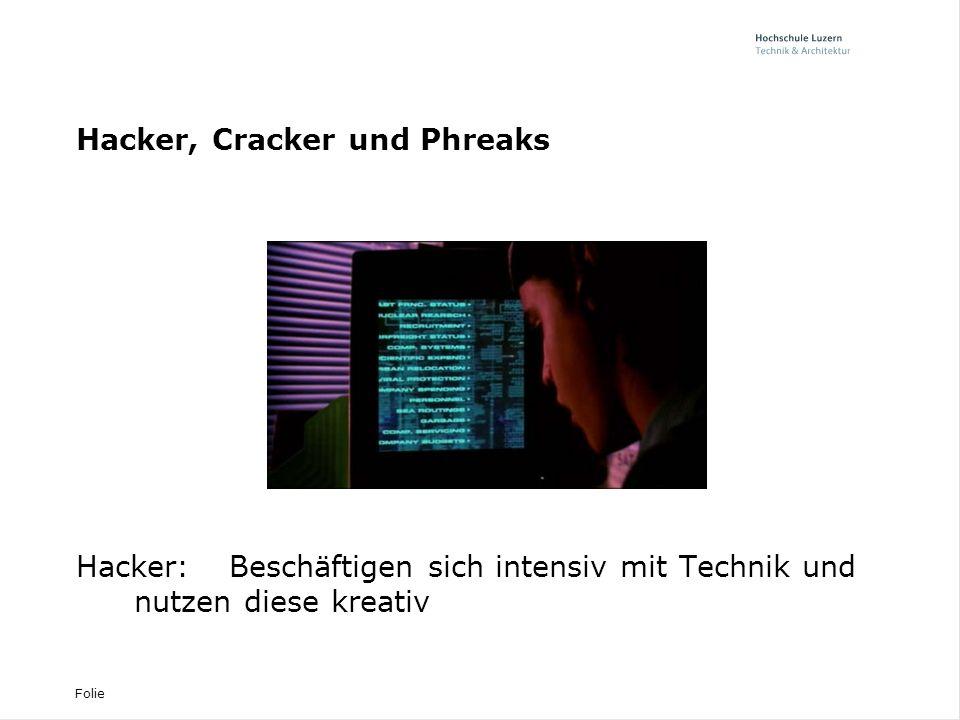Hacker, Cracker und Phreaks