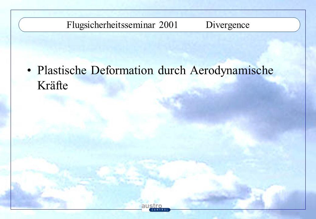 Flugsicherheitsseminar 2001 Divergence