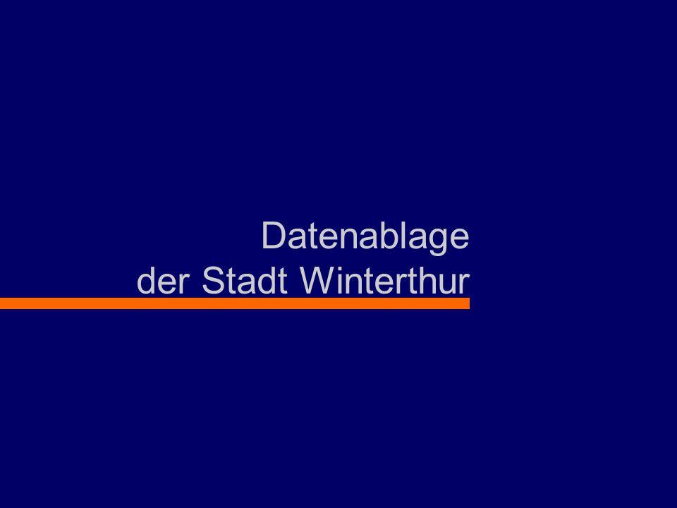 Datenablage der Stadt Winterthur