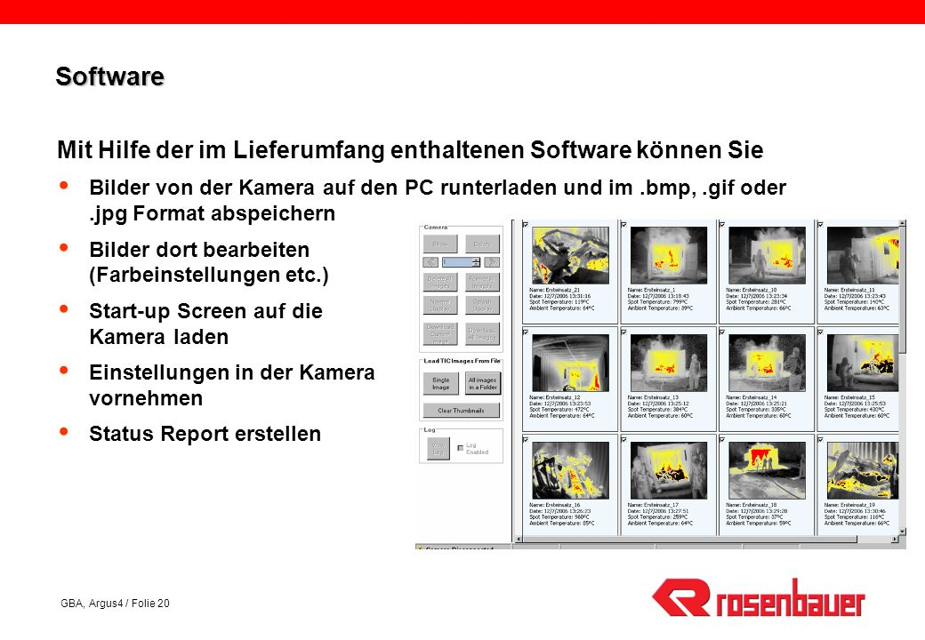 Software Mit Hilfe der im Lieferumfang enthaltenen Software können Sie