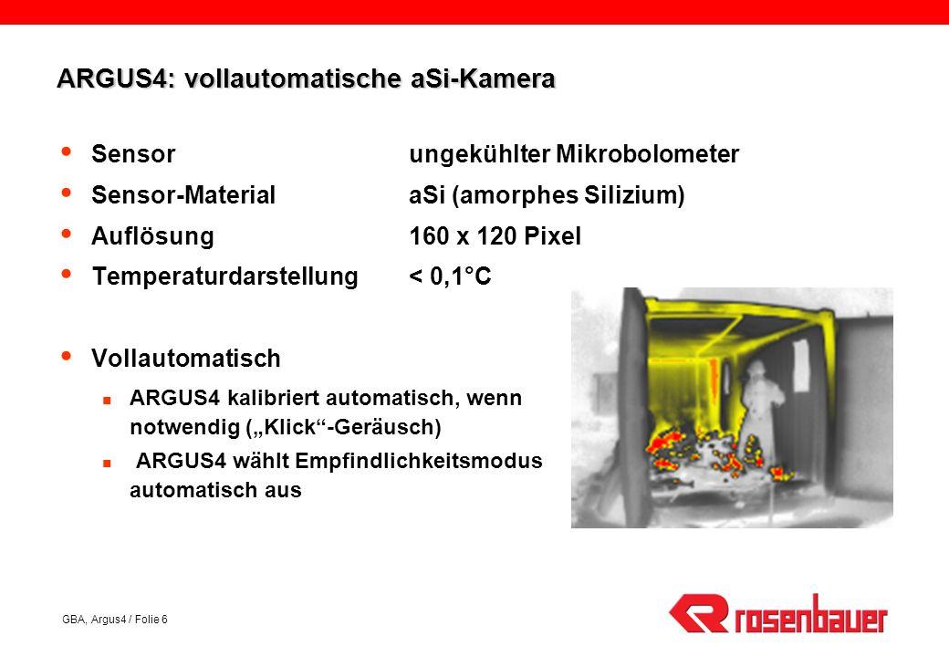 ARGUS4: vollautomatische aSi-Kamera