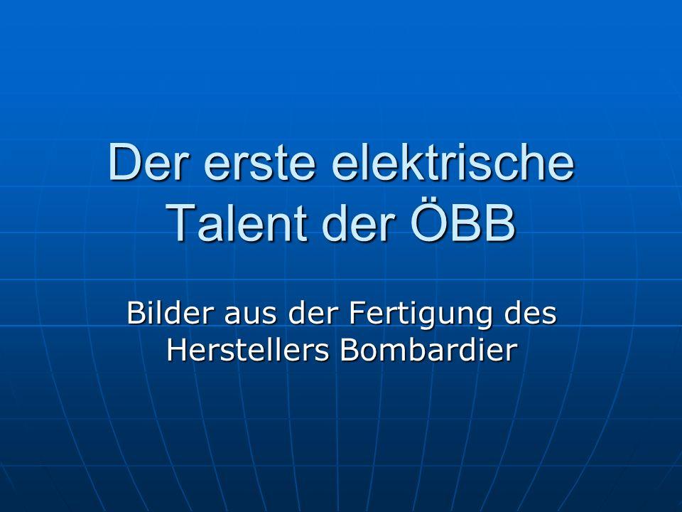 Der erste elektrische Talent der ÖBB