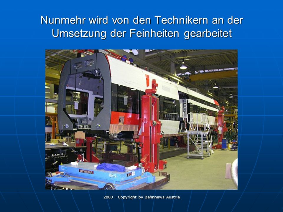2003 - Copyright by Bahnnews-Austria