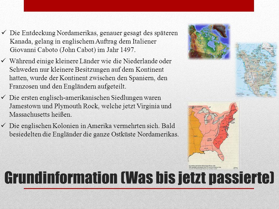 Grundinformation (Was bis jetzt passierte)