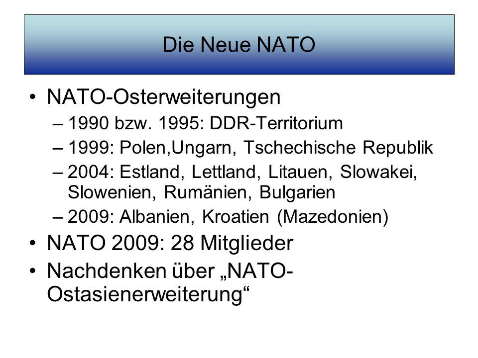 NATO-Osterweiterungen