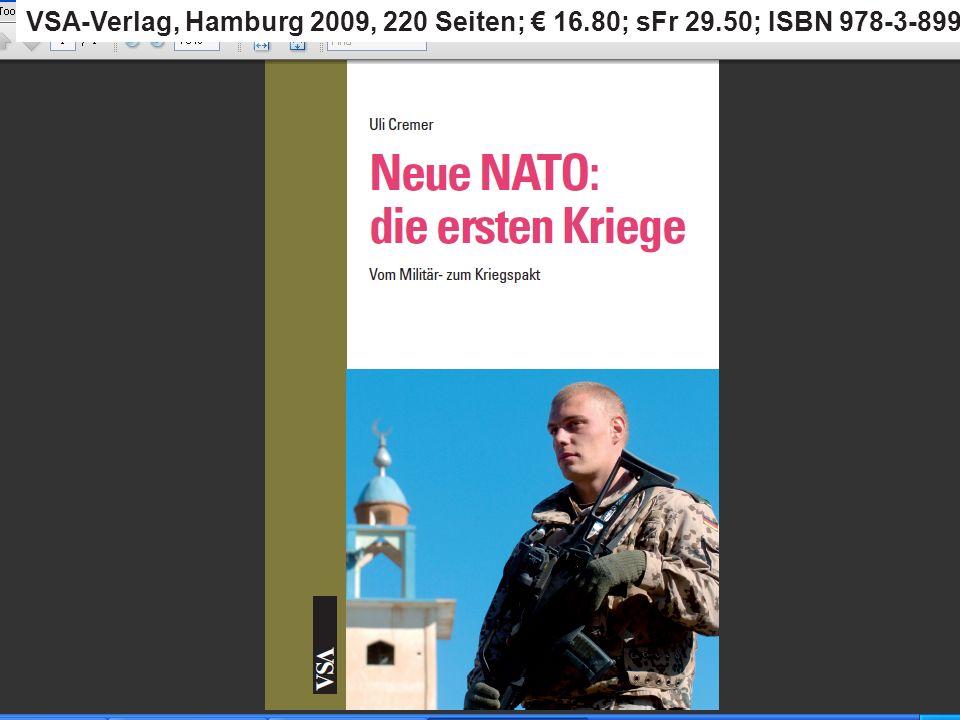 VSA-Verlag, Hamburg 2009, 220 Seiten; € 16. 80; sFr 29
