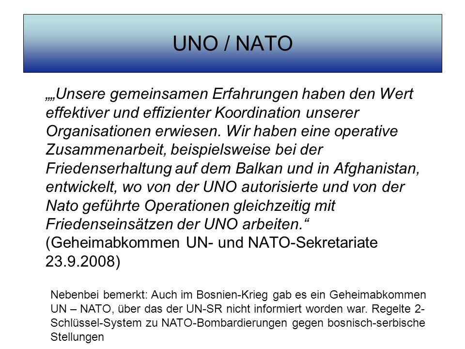 UNO / NATO