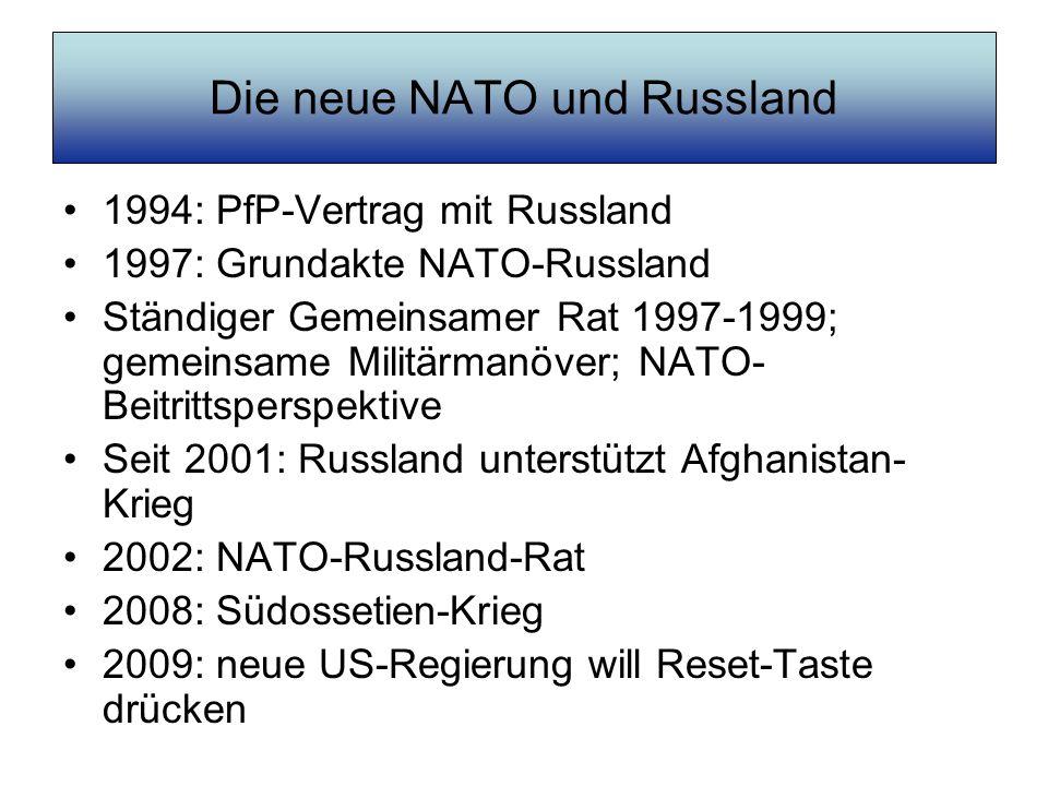 Die neue NATO und Russland