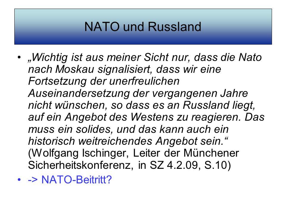 NATO und Russland