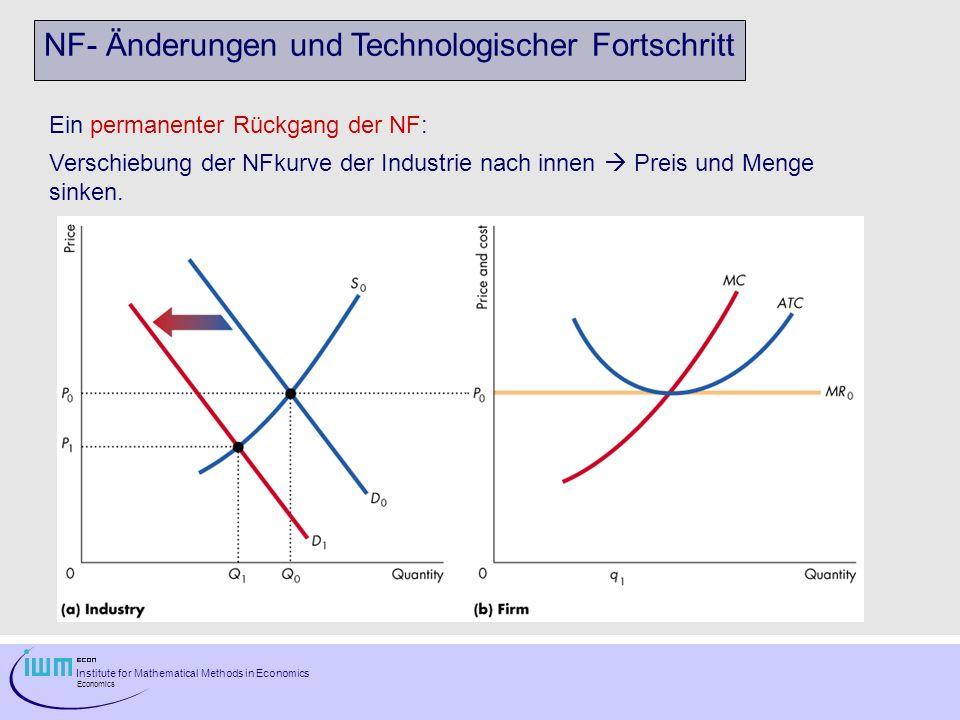 NF- Änderungen und Technologischer Fortschritt