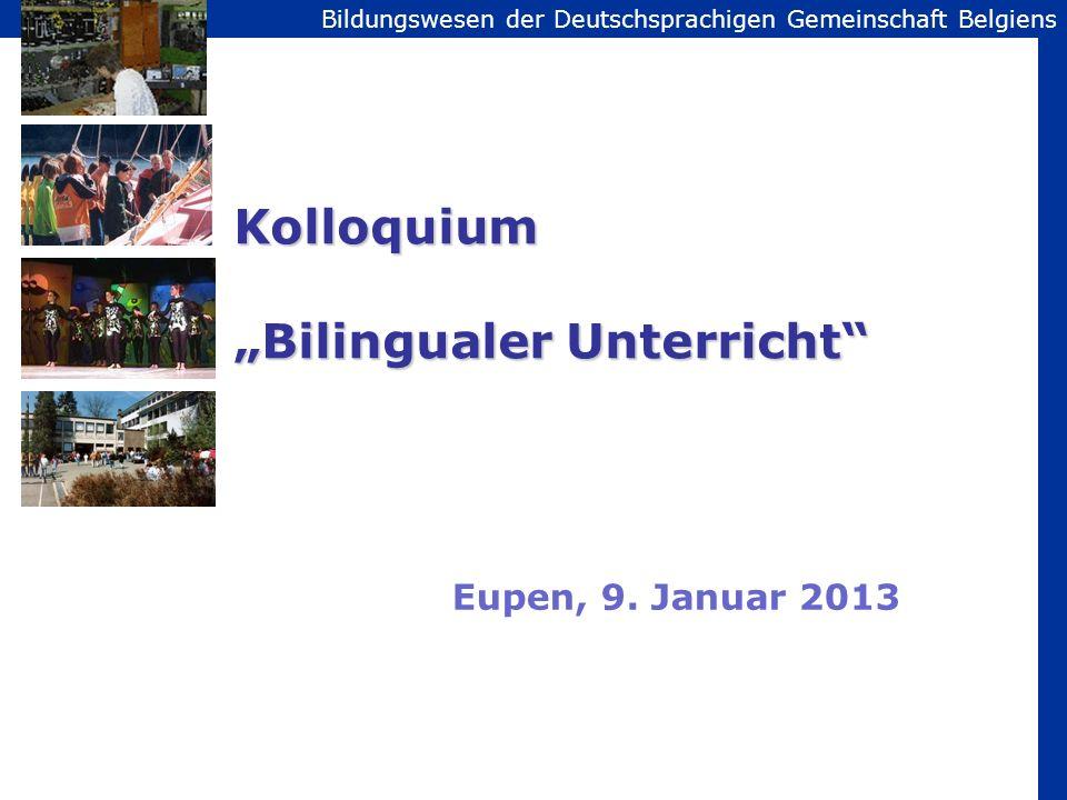 """Kolloquium """"Bilingualer Unterricht"""
