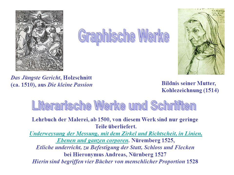 Graphische Werke Literarische Werke und Schriften