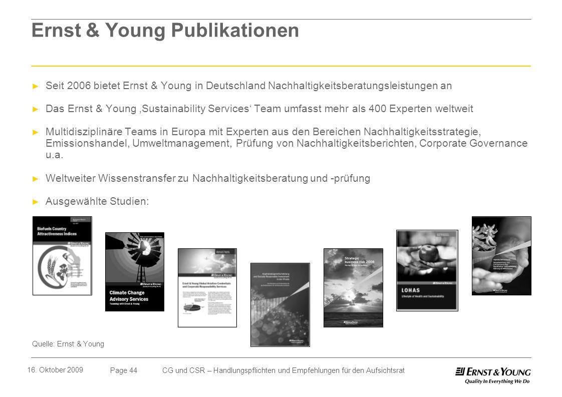 Ernst & Young Publikationen