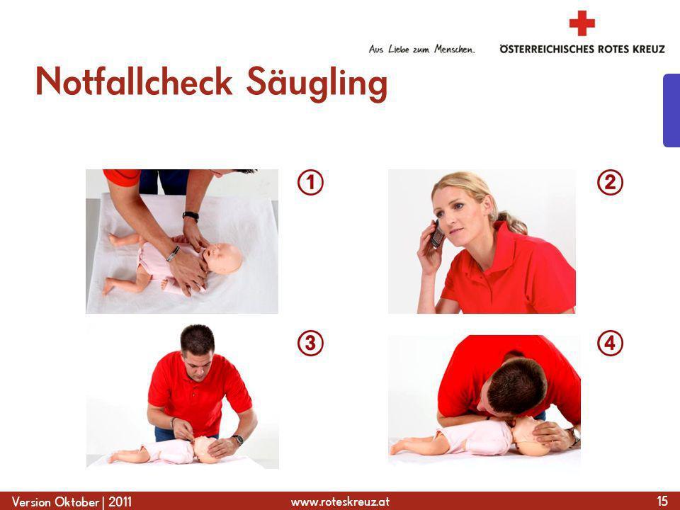 Notfallcheck Säugling