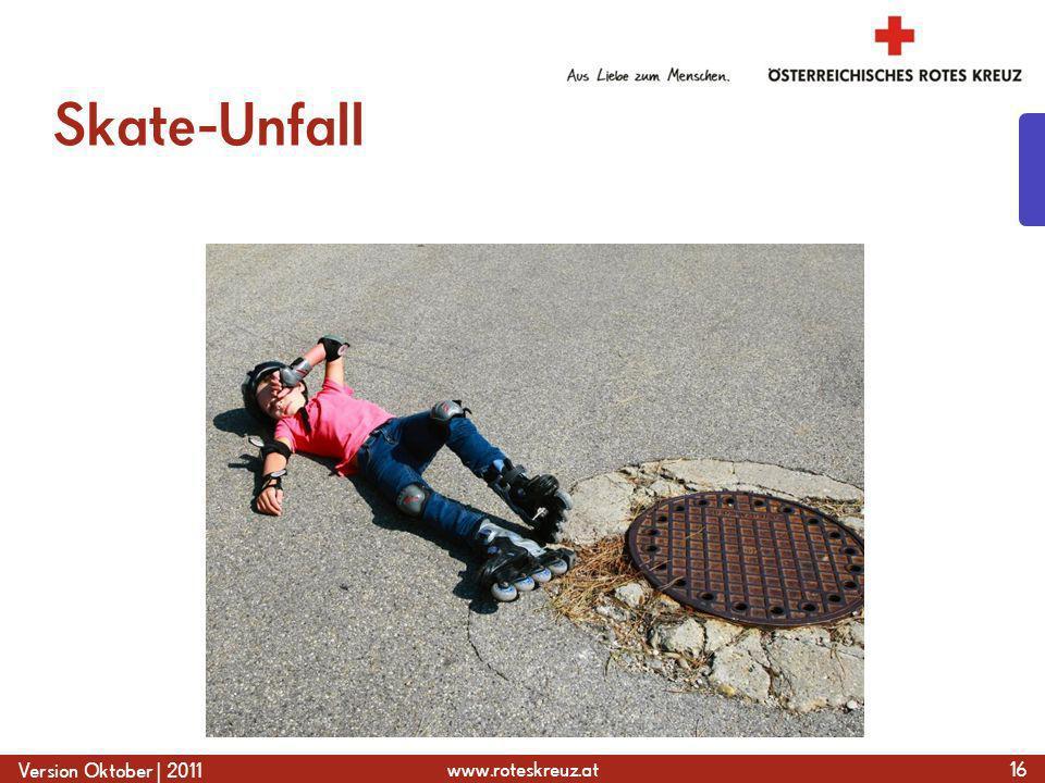 Skate-Unfall