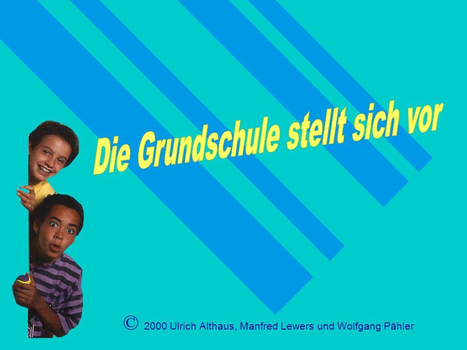 © 2000 Ulrich Althaus, Manfred Lewers und Wolfgang Pähler