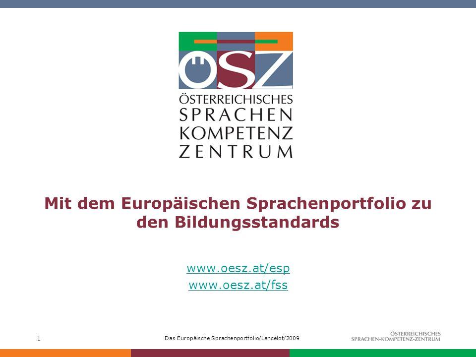 Mit dem Europäischen Sprachenportfolio zu den Bildungsstandards