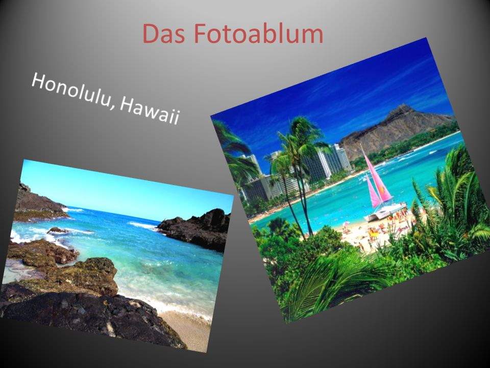 Das Fotoablum Honolulu, Hawaii