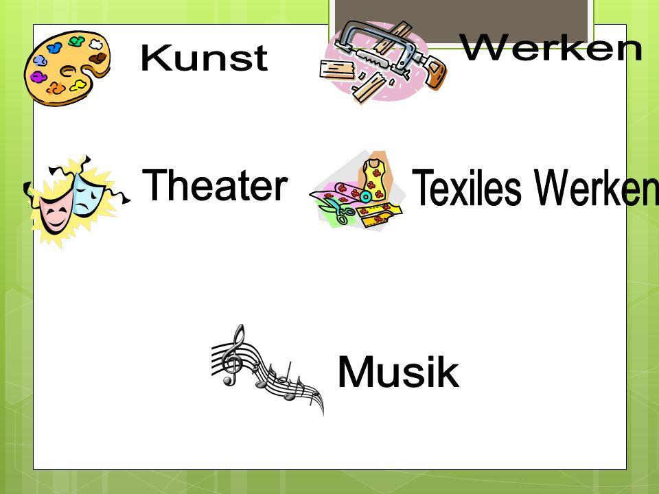Werken Kunst Theater Texiles Werken Musik