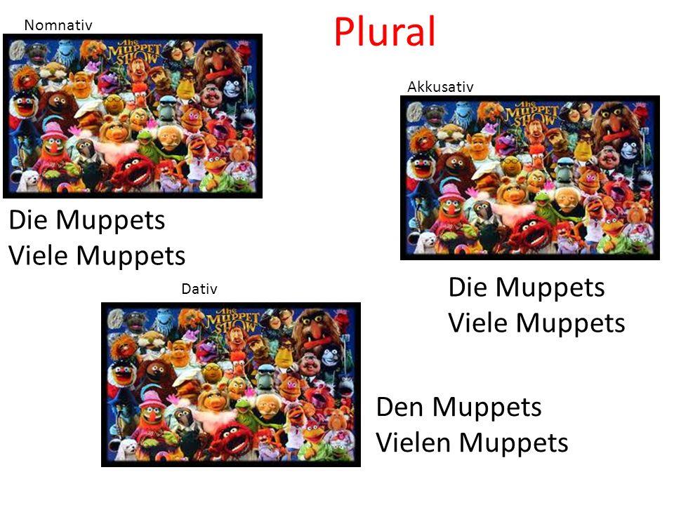 Plural Die Muppets Viele Muppets Die Muppets Viele Muppets Den Muppets