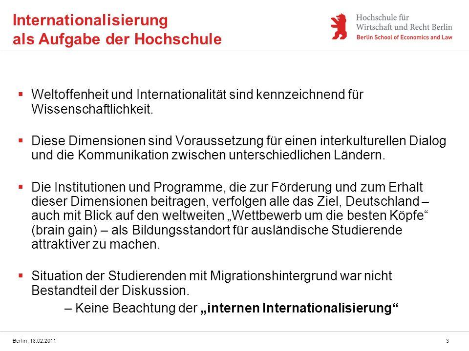 Internationalisierung als Aufgabe der Hochschule