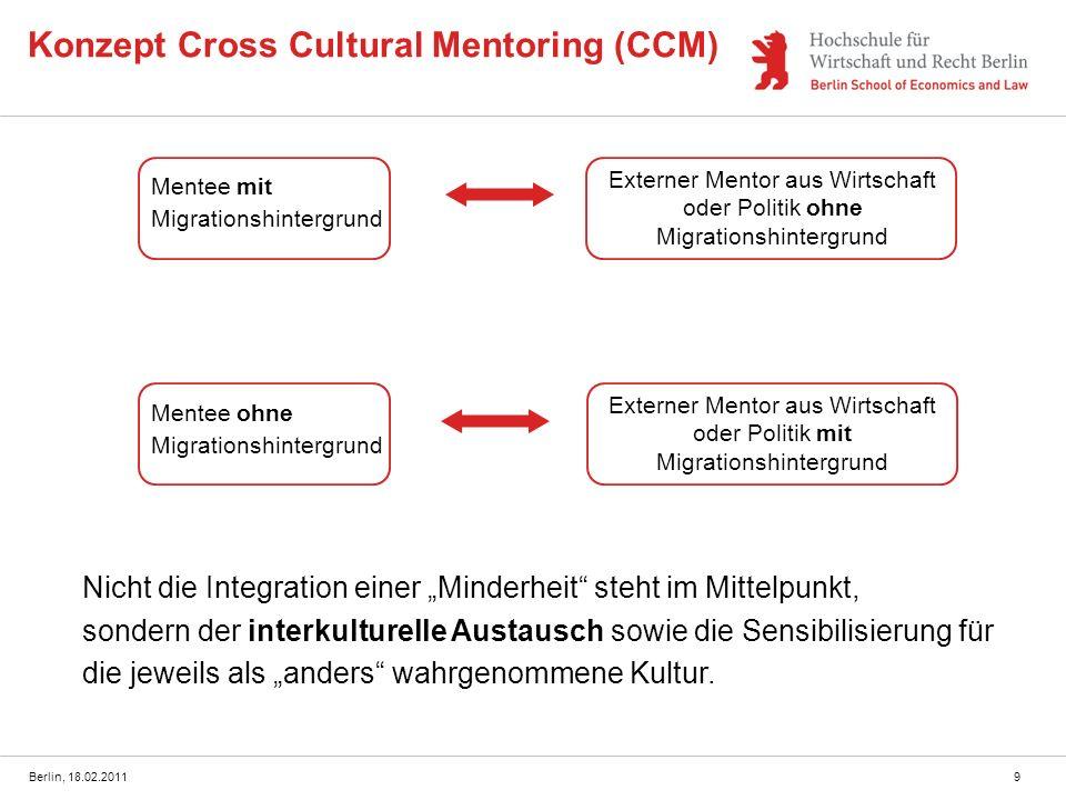 Konzept Cross Cultural Mentoring (CCM)