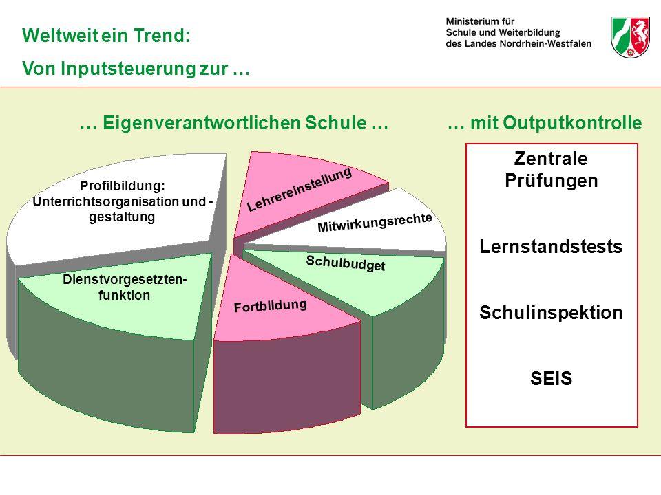 Unterrichtsorganisation und -gestaltung Dienstvorgesetzten-funktion