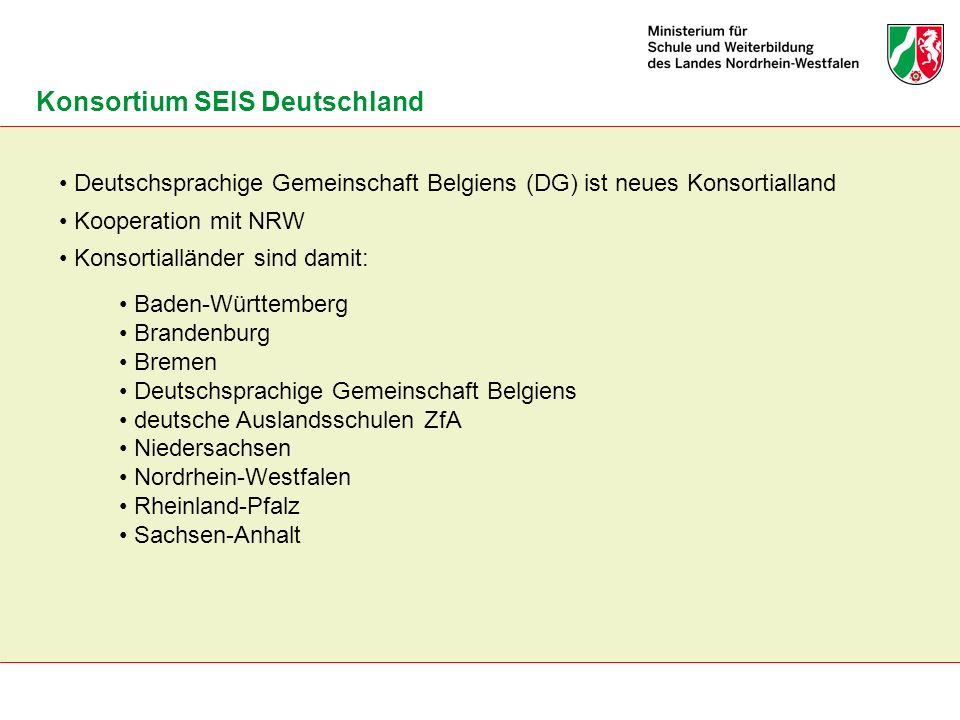 Konsortium SEIS Deutschland