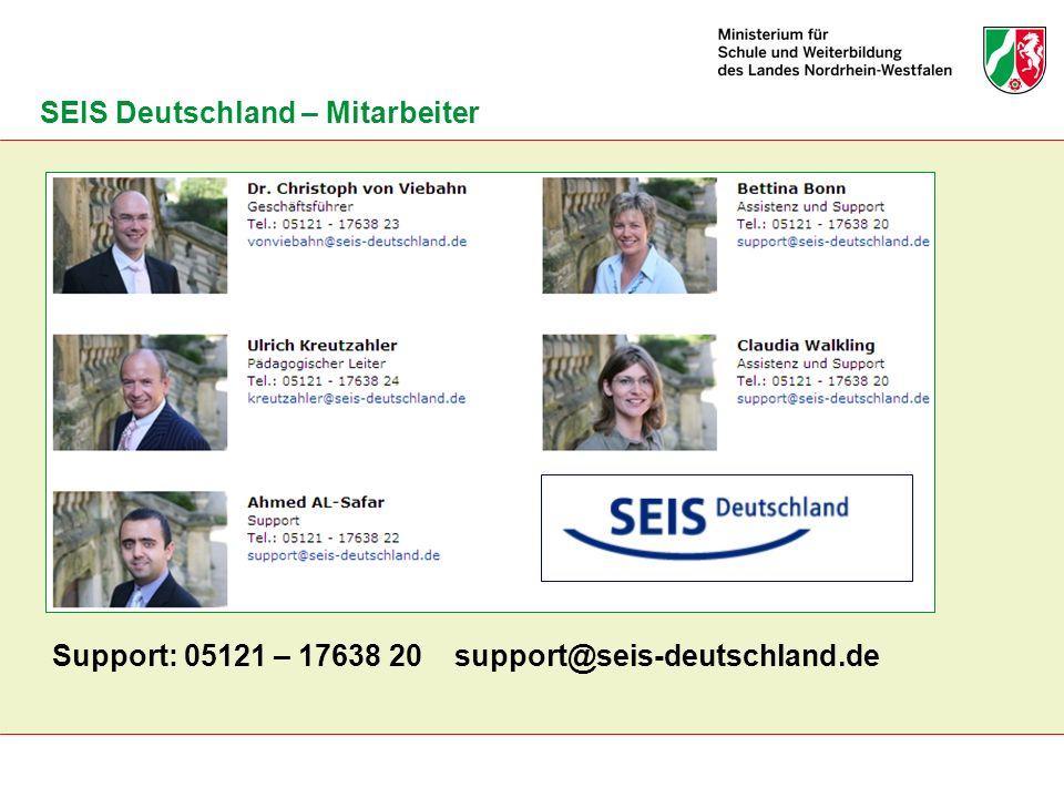 SEIS Deutschland – Mitarbeiter