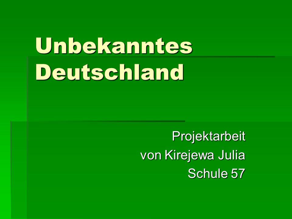Unbekanntes Deutschland