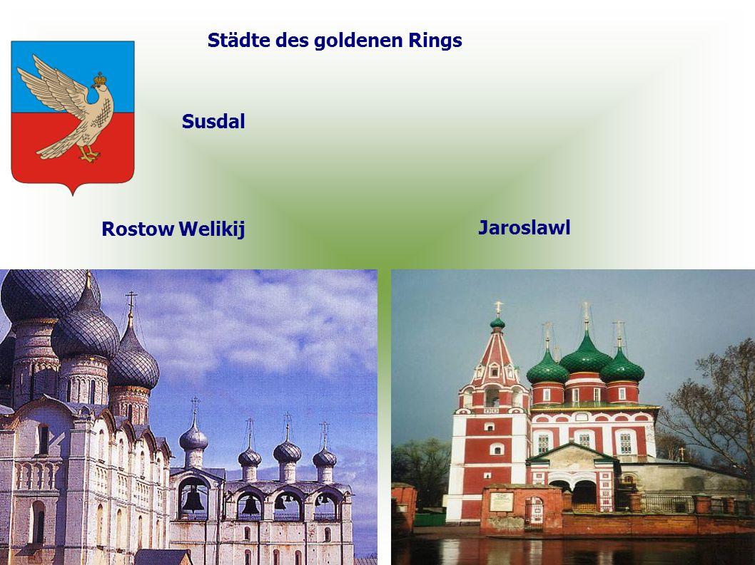 Städte des goldenen Rings