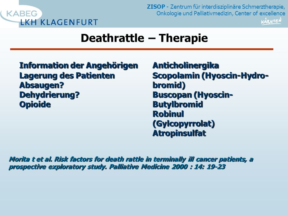 Deathrattle – Therapie