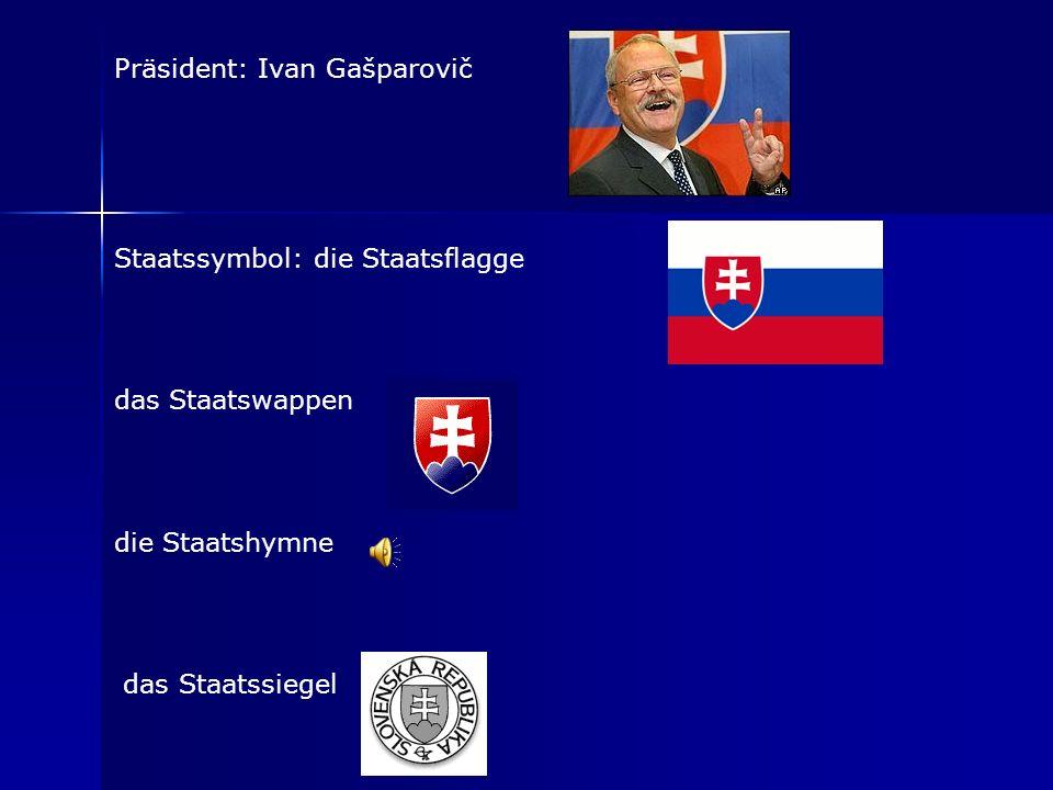Präsident: Ivan Gašparovič