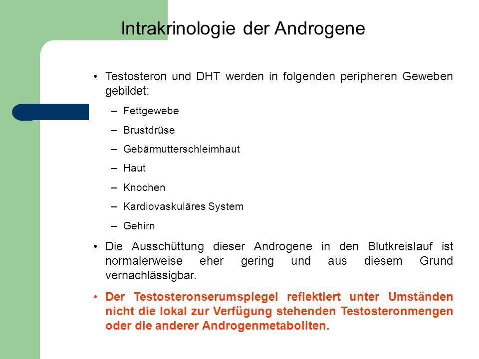 Intrakrinologie der Androgene