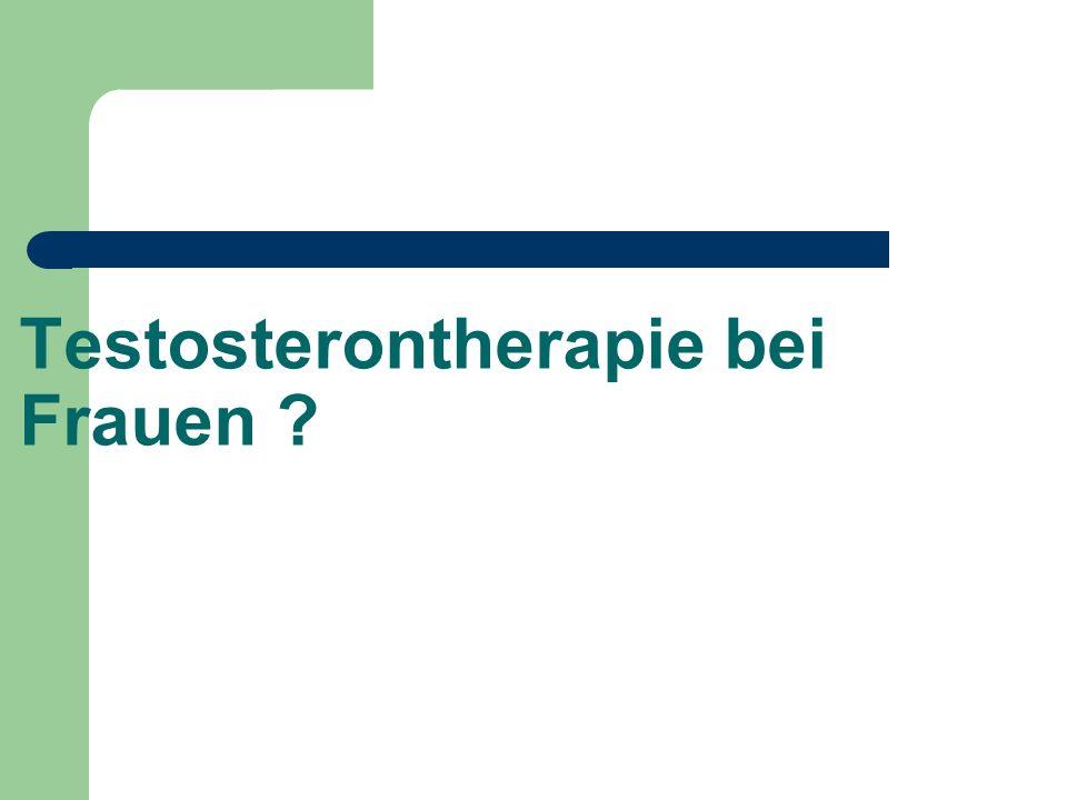 Testosterontherapie bei Frauen