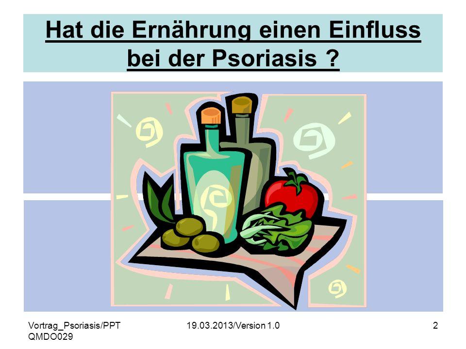 Hat die Ernährung einen Einfluss bei der Psoriasis