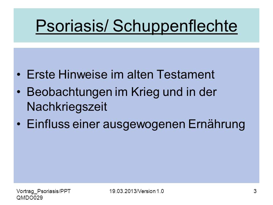 Psoriasis/ Schuppenflechte