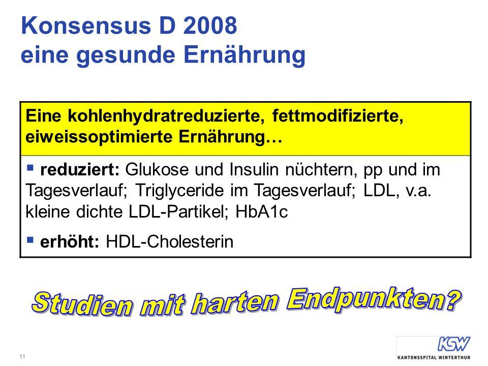 Konsensus D 2008 eine gesunde Ernährung