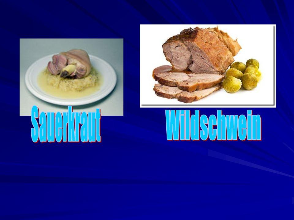 Sauerkraut Wildschwein