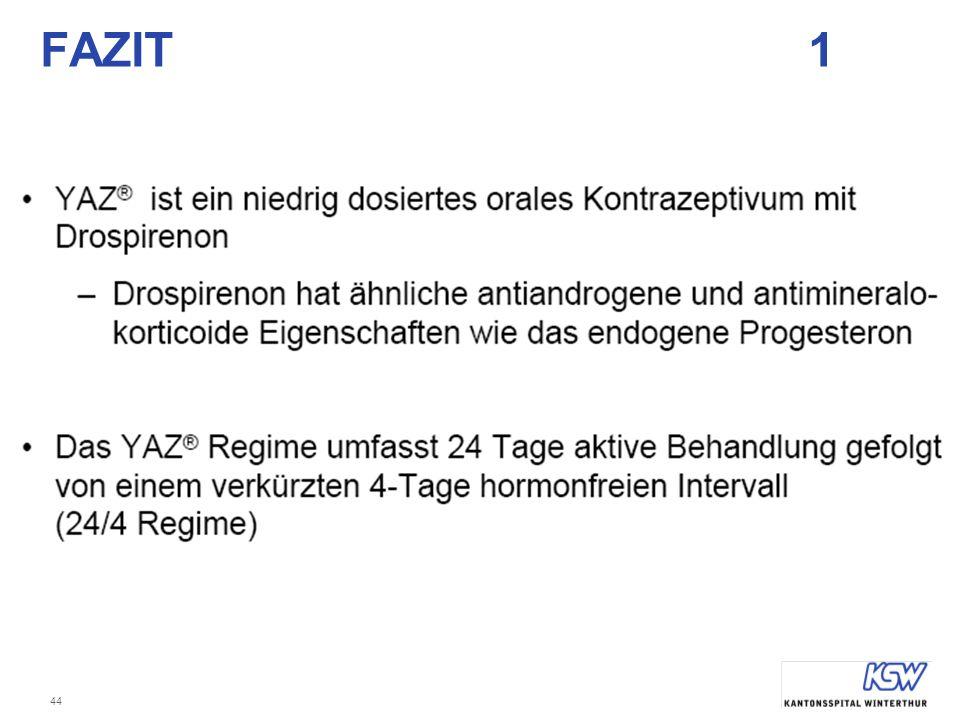 FAZIT 1