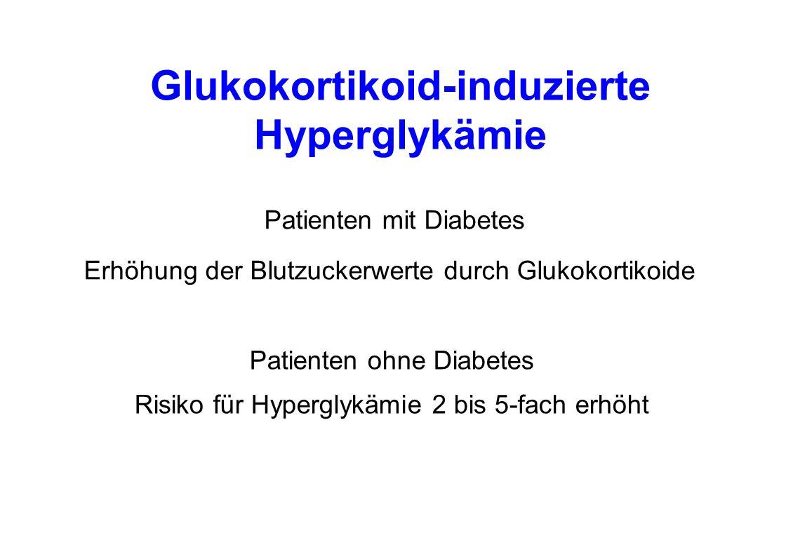 Glukokortikoid-induzierte Hyperglykämie